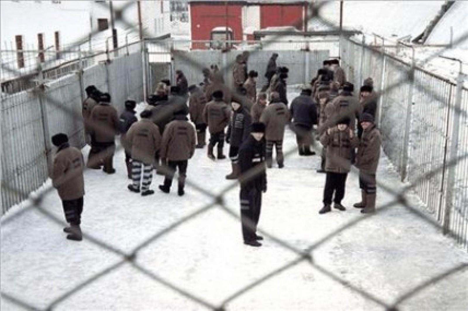 Просмотреть видео и фото о поступлении новых заключенных в следственный изолятор города харьков на холодной горе номер 2