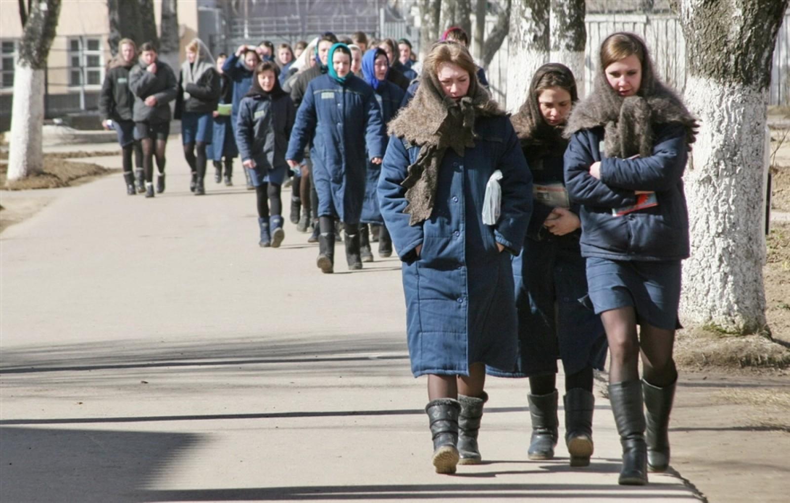 Фото девушек находящихся в тюрьме