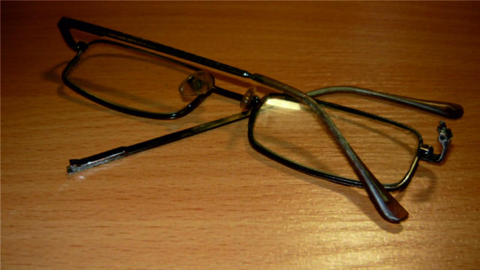 Как сделать очки которые сломались 150