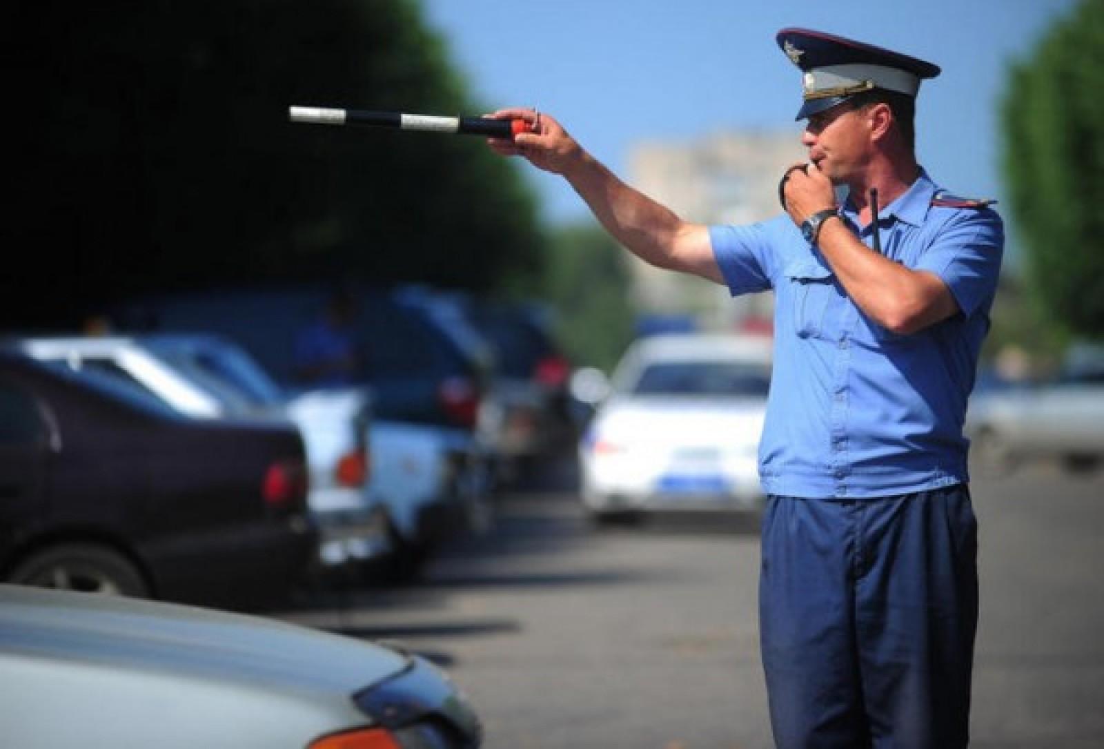 Конкурс для полицейского водителя