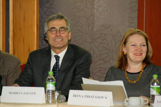 М. Егер, И. Протасова